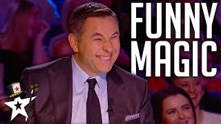 Download FUNNIEST Magicians EVER On Got Talent | Magicians Got Talent Video