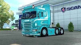 Download Euro Truck Simulator 2 #Scania C.verbist & son V8(แต่งรถกันเถอะ # 18 ) Video