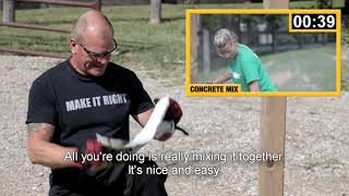 Download Mike Holmes & Sika® Post Fix Video