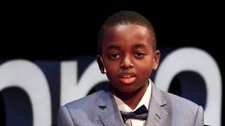 Download The world through the eyes of a child | Joshua Beckford | TEDxVienna Video