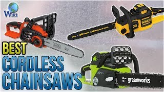 Download 8 Best Cordless Chainsaws 2018 Video