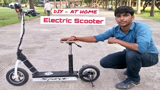 Download how to make Electric Scooter at home Video