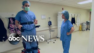 Download Real-life 'Iron Man': How paralyzed surgeon is able to perform surgeries: Part 1 Video