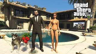 Download GTA 5 Real Life Mod #42 - BUYING A NEW HOUSE!! (GTA 5 Mods) Video