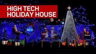 Download Crazy Christmas lights bring holiday cheer Video