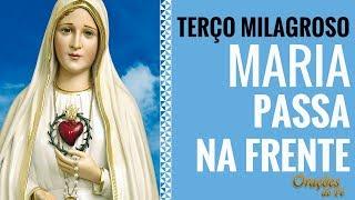 Download TERÇO MILAGROSO MARIA PASSA NA FRENTE Video
