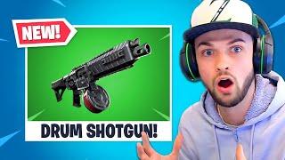 Download *NEW* DRUM SHOTGUN in Fortnite is INSANE! Video