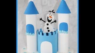 Download Centro de mesa castelo da frozen passo a passo Video