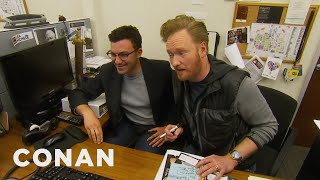 Download Conan Staffers' Parents Give Tips On Improving The Show - CONAN on TBS Video