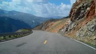Download The Beartooth Highway: Descending Toward Red Lodge, Montana, August 11, 2012 Video