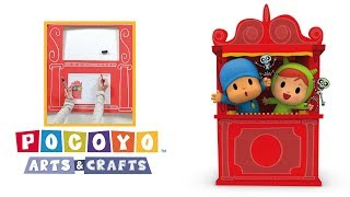Download Pocoyo Arts & Crafts: Teatro de marionetas de Pocoyó y Nina | HALLOWEEN Video
