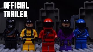 Download POWER RANGERS (2017) Official Trailer IN LEGO! Video