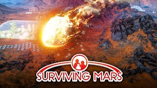Download METEOR STRIKES! - Surviving Mars #4 Video