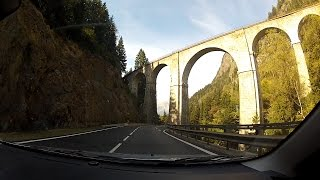 Download Route Nationale 205 (RN 205 / N 205), Haute-Savoie (Upper Savoy), France – onboard camera Video