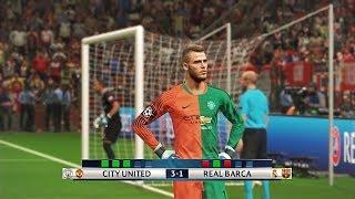 Download CITY UNITED vs REAL BARCA I PES 2018 Fantasy Penalty Shootout Video