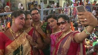 Download Hijras Married Lord shiva in Vemulawada and Dance at Temple   REPORTERBOX Video