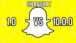 Download Snapchat version 1.0 vs 10.0.0! What a change! Video