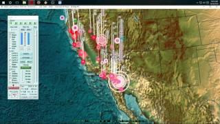 Download 9/26/2016 - Large Earthquake Swarm hits Southern California - Salton Sea Volcano Video