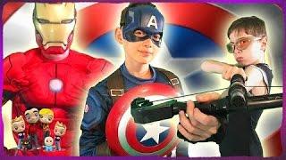 Download Captain America Civil War Kids Parody Video