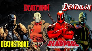 Download Deadpool, Deadshot, Deathstroke, Deathlok - Which is Which? Video