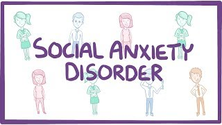 Download Social Anxiety Disorder - causes, symptoms, diagnosis, treatment, pathology Video