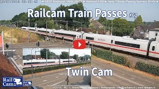 Download RailCam Train Passes on Twin Cam #62 Video