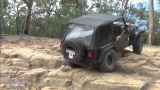Download Aussie Lock vs no locker Jeep TJs Video