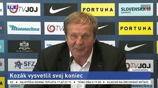 Download Ján Kozák vysvetlil prečo rezignoval z postu trénera reprezentácie Video