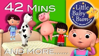 Download Little Baby Bum | Friends Jumping on The Bed | Nursery Rhymes for Babies | Songs for Kids Video