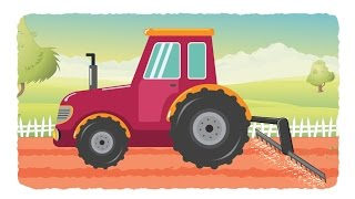 Download tractor for kids | tractor videos for children | kids channel | learn vehicles Video