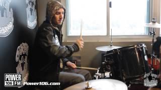 Download Travis Barker Power 106 Drum Solo Video