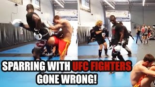 Download Sparring With UFC Fighters GONE WRONG! [Top 5 Compilation] Part 1 Video
