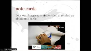 Download Note Taking in the Research Process Video