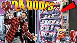 Download I Only Ate VENDING MACHINE FOODS for 24 hours!! **IMPOSSIBLE CHALLENGE** Video