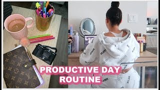 Download A PRODUCTIVE DAY ROUTINE & HOW I PLAN MY WEEK Video