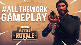 Download #ALLTHEWORK - Fortnite Battle Royale Gameplay - Ninja Video