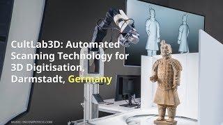 Download CultLab3D: Automated Scanning Technology for 3D Digitisation, Darmstadt, GERMANY Video