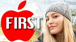 Download FIRST IN LINE FOR RED iPHONE! Video