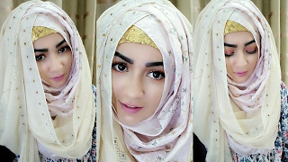 Download Crisscross Hijab Style with Covering Chest   Pari ZaaD ❤ Video