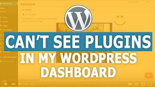 Download Why Can't I See Plugins in my WordPress Dashboard Video