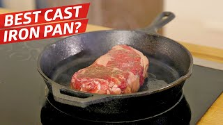 Download Is this $200 Cast Iron Pan Better than the Lodge? — The Kitchen Gadget Test Show Video
