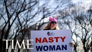 Download Women's March 2018 Best Moments: Thousands Of Women March Around The World | TIME Video