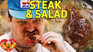 Download Drop Acid & Butter Baste Steaks | Matty Matheson | Just A Dash | EP 4 Video