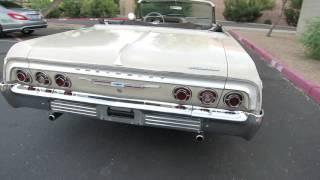 Download 1964 Chevrolet Impala SS Convertible Original Car for sale 480-205-5880 JSC Motorcars Video