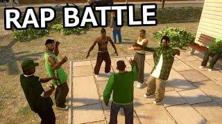 Download GTA IV - CJ vs OG Loc [Rap Battle] PART 1 Video