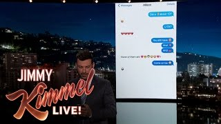 Download Jimmy Kimmel Texts His Niece About One Direction Split Video
