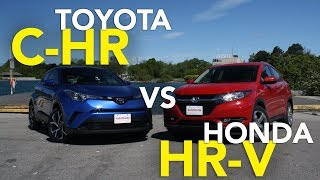 Download 2018 Toyota C-HR vs 2017 Honda HR-V Comparison Test Video