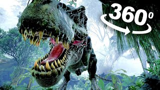 Download VR Video 360 Jurassic Dinosaur VR 360 degree VR Experience POV Video