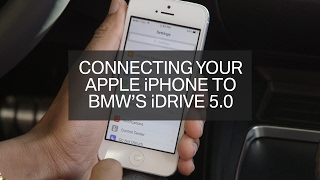 Download Connect your iPhone to BMW iDrive 5.0! (2017) Video