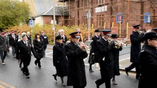Download Bellshill Salvation Army Band Remembrance Day march 2016 Video